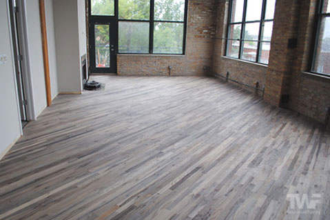 Silver Grey Fumed Rubio Monocoat Chicago