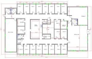 Modular Medical Clinic Floor plan