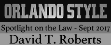 Featured in the'Spotlight on the Law' issue, Orlando Style Magazine - September 2017