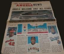 1967 All-Star Game Paper