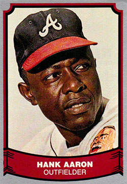 1988 Pacific Legends Baseball Card (#1 Hank Aaron)