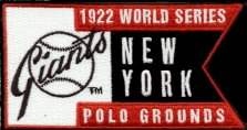 1922 World Series Patch by Upper Deck, Inc.