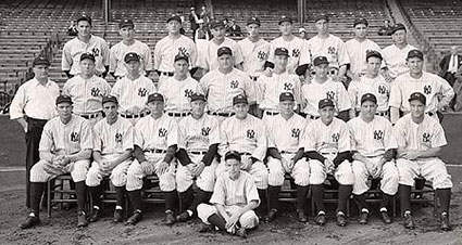 1936 New York Yankees Team Photo