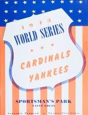 1943 World Series Program, St. Louis Cardinals Version