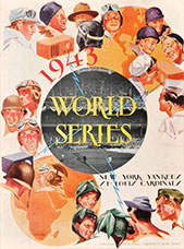 1943 World Series Program