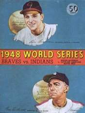 1948 World Series Program