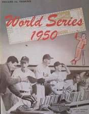 1950 World Series Program, Philadelphia Phillies Version