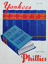 1950 World Series Program, New York Yankees Version