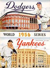 1956 World Series Program