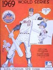 1969 World Series Official Program