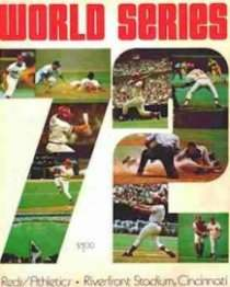 1972 World Series Program