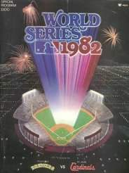 1982 World Series Program