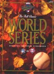 1993 World Series Program