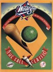 1998 World Series Program