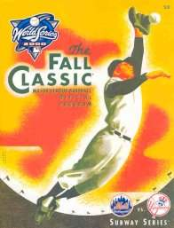 2000 World Series Program