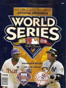 2009 World Series Program