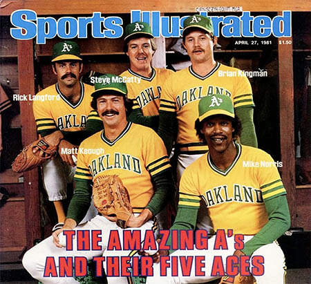 Sports Illustrated: A's Five Aces'