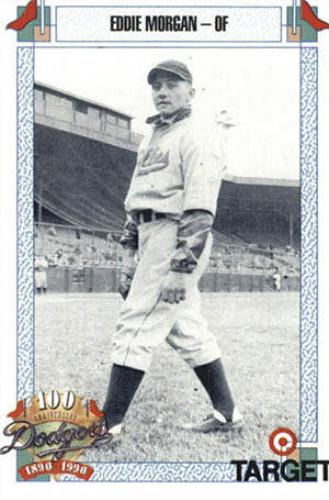Eddie Morgan Baseball Card