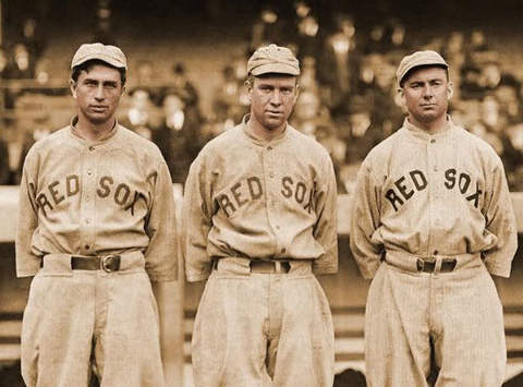 Harry Hooper, Tris Speaker and Duffy Lewis - The Million Dollar Outfield