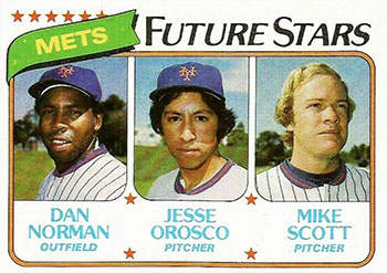 Jesse Orosco Rookie Baseball Card