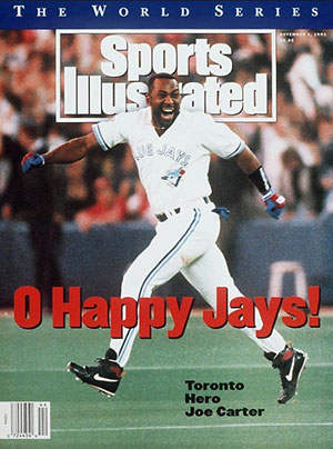 Joe Carter on Sports Illustrated