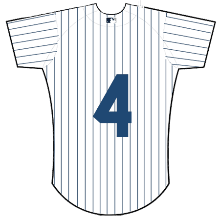 Lou Gehrig New York Yankees Jersey