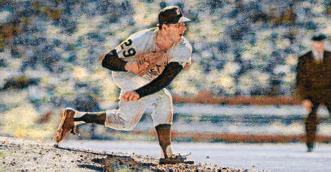 MICKEY LOLICH MLB ART by BASEBALL ALMANAC