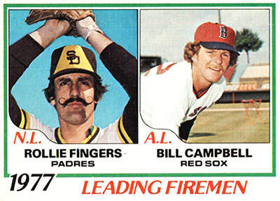 Bill Campbell Baseball Card
