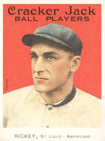 Branch Rickey Baseball Card