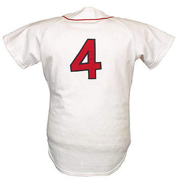 Carney Lansford, Boston Red Sox #4 Jersey