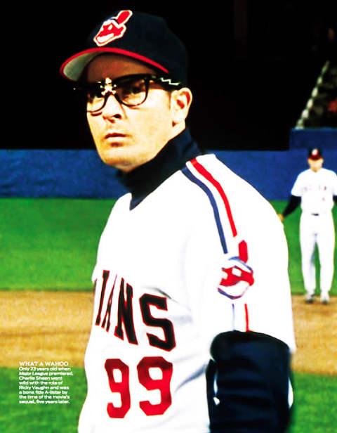 Charlie Sheen, Wild Thing, Major League