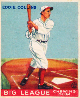 Eddie Collins Baseball Card