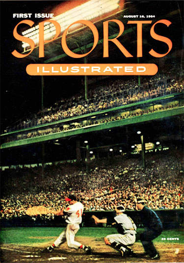 Eddie Mathews, Sports Illustrated Cover