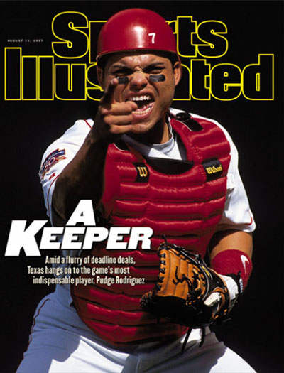 Ivan Rodriguez on Sports Illustrated