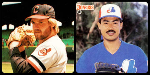 Perfect Game Pitchers, Len Barker and Dennis Martinez