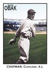 Ray Chapman Baseball Card