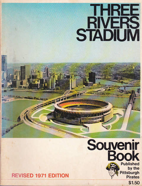Three Rivers Stadium Souvenir Book