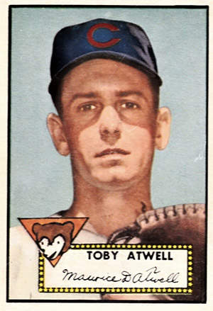 Toby Atwell Baseball Card