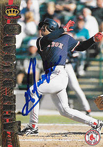 Alex Delgado Autograph on a 1997 Fleer Baseball Card (#37)
