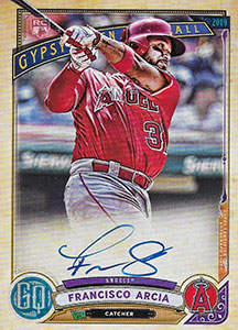 Francisco Arcia Autograph on a 2019 Topps Gypsy Queen Baseball Card (#GQA-FA_