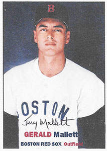 Jerry Mallett on a 1960 ACEO Baseball Card