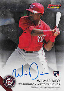 Wilmer Difo Autograph on a 2015 Bowman Best Baseball Card (#B15-WD)