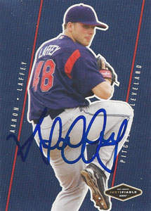 Aaron Laffey Autograph on a 2007 Just Minors (#JF-20)