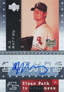 A.J. Murray Autograph on a 2007 Upper Deck (#160)