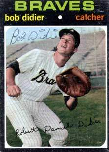 Bob Didier Autograph on a 1971 Topps (#432)