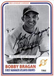 Bobby Bragan Autograph on a 1994 Big League Card (#32)