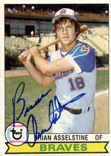 Brian Asselstine Autograph on a 1979 Topps (#529)