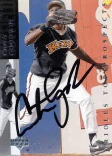 Curtis Goodwin Autograph on a 1993 Upper Deck (#32)
