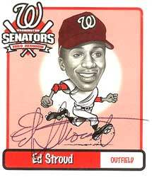 Ed Stroud Autograph on a 1970 The Senators (#23)