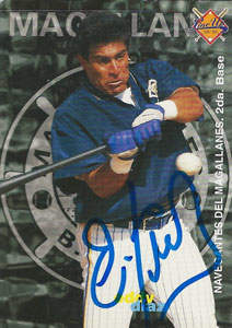 Eddy Diaz Autograph on a 1998 Line-Up (#93)